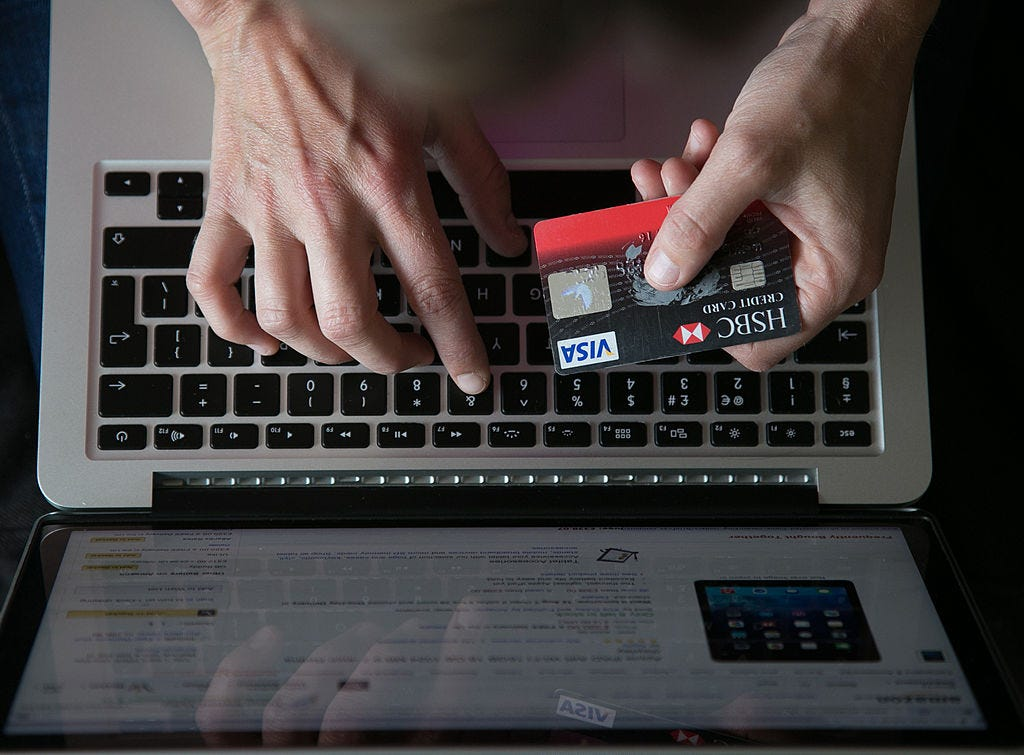 The digital banking transformation initiated with limited online banking services. - Matt Cardy / Stringer / Getty Images